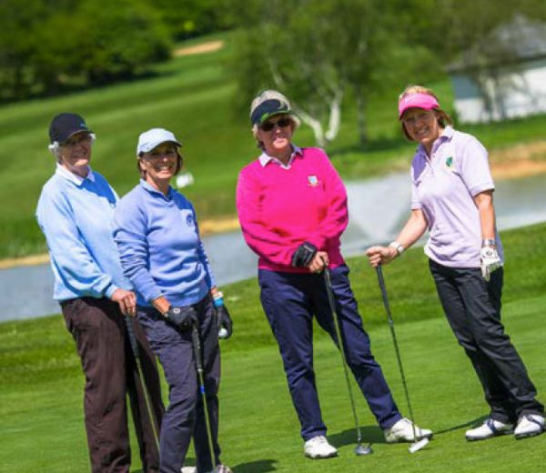 Female golfers